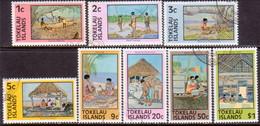 TOKELAU 1976 SG 49-56 Compl.set Used Perf. 14x13½ Or 13½x14 Local Life - Tokelau