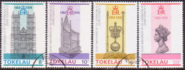 TOKELAU 1978 SG 61-64 Compl.set Used 25th Anniv Of Coronation - Tokelau