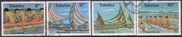 TOKELAU 1978 SG 65-68 Compl.set Used Canoe Racing - Tokelau