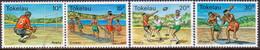 TOKELAU 1979 SG 69-72 Compl.set Used Sports - Tokelau