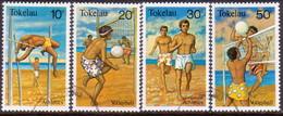 TOKELAU 1981 SG 77-80 Compl.set Used Sports - Tokelau
