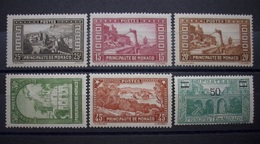Monaco 1931 - 1933 ** Mi.Nr.120 - 124 / 115  Postfrisch    (B144) - Monaco