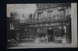 PARIS  Maison DUPONT  3 Et 5 Rue Gomboust Edit E. LE DELEY - Arrondissement: 01