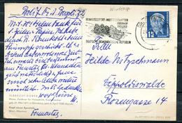 """DDR 1952 Künstlerkarte(Dürer Karte) Mit Mi.Nr.323 U.Sport MWST""""Dresden-III.Wintersport-Meisterschaften Oberhof""""1 Karte - Hiver"""