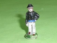 Fèves / Anciennes : Soldat , Tunique Bleu      T6 - Anciennes
