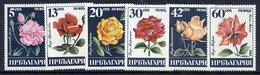 BULGARIA 1985 Roses Set  MNH / **.  Michel 3373-78 - Bulgaria