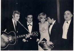 Carte Postale  Johnny Hallyday - Richard Anthony - Sylvie Vartan - Paul Anka - Bruno Coquatrix - 1964 - Chanteurs & Musiciens