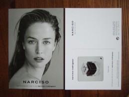 Narciso Rodriguez Parfum Carte Postale Avec Patch - Perfume Cards