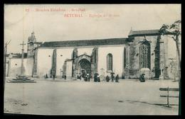 SETUBAL - Egreja De Jesus ( Ed. Mendes Estafeta Nº 21) Carte Postale