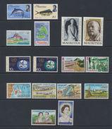 Maurice - Mauritius  1970 - 1971  Lot De Timbres  MNH *** - Maurice (1968-...)