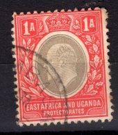 KUT: East Africa And Uganda Protectorates, 1904, SG 18, Used (Wmk Mult Crown CA) - Kenya, Uganda & Tanganyika