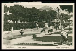 BARREIRO - Parque Infantil ( 2ª Ed. Livraria E Papelaria 1º De Janeiro) Carte Postale