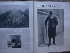 L'ILLUSTRATION 3486 LEOPOLD II/ AVIATION/ CONSTANTINOPLE/ CARNAGE DE JULLY/NOBEL 18 Décembre 1909 Page 455 Le Roi Léopol - Journaux - Quotidiens