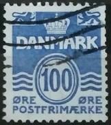 DINAMARCA 1983 Wavy Lines. USADO - USED. - Dinamarca