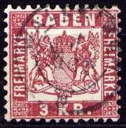 LOTE 1230  ///  (C070)  ALEMANIA   BADEN - MICHEL Nº: 24 - Baden