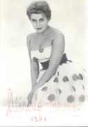 Mirella Parutto (born 1936) Is An Italian Operatic Soprano And Later Mezzo-soprano.  AUTOGRAPHE ORIGINAL - Autographs