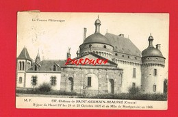 [23] Creuse > Château De SAINT GERMAIN DE BEAUPRE ... - Frankrijk