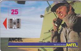 007 TARJETA DE URUGUAY  DE TELEFONIA RURAL - MILITAR (NUEVA-MINT)