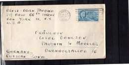 1946 New York Paepexe > Lisel Dehlsen Parchim In Mecklenburg Buchholzallee 16 (u381) - Verenigde Staten