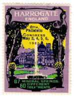 (I.B-CK) Cinderella : 8th Philatelic Congress (Harrogate 1921) - 1902-1951 (Rois)