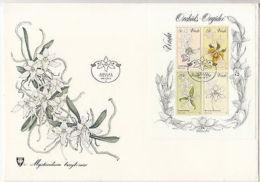 Venda: Orchids, FDC, 11 September 1981 - Plants