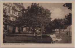 Gunten - Hotel Hirschen - Park - Photo: Guggenheim No. 12396 - BE Berne