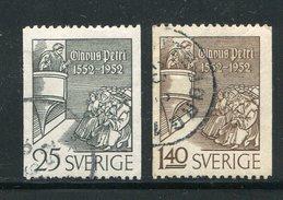 SUEDE- Y&T N°367 Et 368- Oblitérés