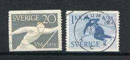 SUEDE- Y&T N°385 Et 386- Oblitérés