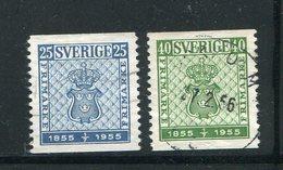 SUEDE- Y&T N°395 Et 396- Oblitérés