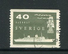 SUEDE- Y&T N°428- Oblitéré (bateau)