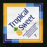 # PINEAPPLE TROPICAL SWEET Size 7 Fruit Tag Balise Etiqueta Anhanger Ananas Pina Costa Rica - Fruits & Vegetables