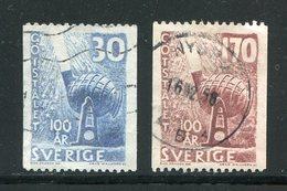 SUEDE- Y&T N°432 Et 433- Oblitérés