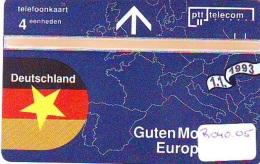 Telefoonkaart LANDIS&GYR * DEUTSCHLAND  GOEDE MORGEN EUROPA * R-040.05 * Niederlande Prive Private  ONGEBRUIKT * MIN - Nederland