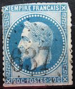 GC 637 - BRIOLLAY - MAINE ET LOIRE - 1849-1876: Periodo Classico