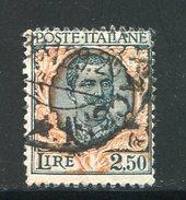 ITALIE- Y&T N°185- Oblitéré - Oblitérés