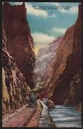18648  EUA Cartão Postal Trem Locomotiva The Royal Gorge - United States