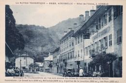 HOTEL DE L'UNION/AIGUEBELLE (dil64) - Aiguebelle