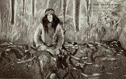 'In The Snake Cave' At Bostock Jungle - Indios De América Del Norte