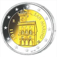 "Pièce Officielle 2 Euros  San Marin 2011 "" Palais Ducal "" - San Marino"