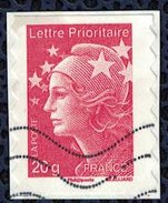 France 2011 Oblitéré Used Marianne De Beaujard Rouge LP 20gr Y&T 590 SU - 2008-13 Marianne (Beaujard)