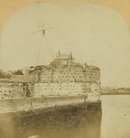 Stéréo Circa 1858 Furne Et Tournier. La Normandie Artistique. N° 64. Le Havre. L'entrée Du Port Et La Tour François Ier. - Photos Stéréoscopiques