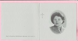Bidprentje- Philomena DE DECKER Ere Verpleegster Militair Hospitaal-echtg. Pol Poppe - Heindonk 1909 -Halle Zoersel 2002 - Religion & Esotericism