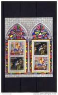 ESPAÑA  3837 Hoja Bloque Navidad 2001 Conjunta Con Alemania - Blocs & Hojas