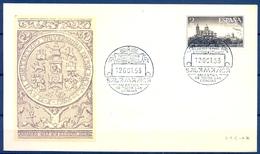 1953 , SOBRE PRIMER DIA , ED. 1128 , VII CENT. UNIVERSIDAD DE SALAMANCA - FDC
