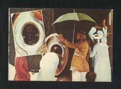 Saudi Arabia Picture Postcard Pilgrims Kiss The Holy Black Stone Mecca View Card