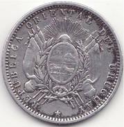 Uruguay - 20 Centesimos - 1877 - Argent - Uruguay