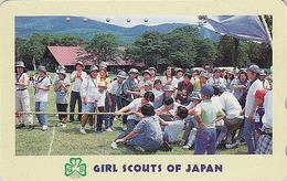 Télécarte Japon / 110-011 - SCOUTISME Scout - Jeu De Cordes - SCOUTING Japan Phonecard - PFADFINDER - 114 - Jeux