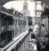Ecuador ~ GUAYAQUIL ~ Street Scene W/ Spanish Maiden On Balcony 21872* Ve336 Fx - Fotos