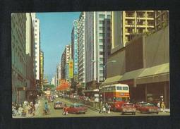 Hong Kong China Picture Postcard Festival Tsim Sha Tsui Kowloon View Card