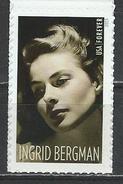 USA. Scott # 5012 MNH. Ingrid Bergman 100th. Anniv. Joint Issue With Sweden 2015 - Gemeinschaftsausgaben